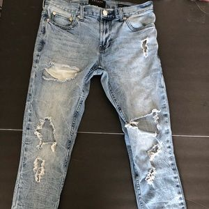 Pacsun Ripped Skinny Jeans